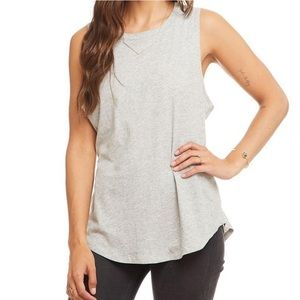 Chaser back seam muscle tank